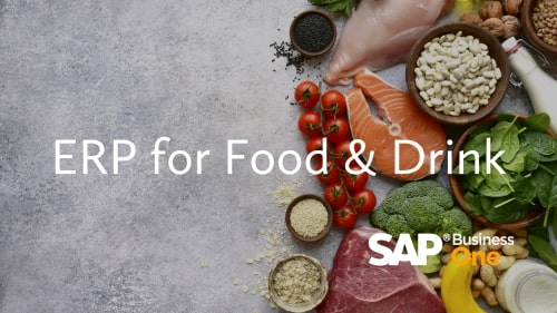 ERP for Food and Drink