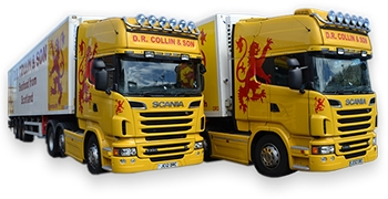DR Collin & Son trucks